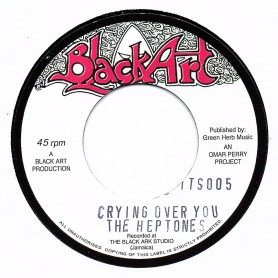 """(7"""") THE HEPTONES - CRYING OVER YOU / THE UPSETTERS - CRYING DUB"""
