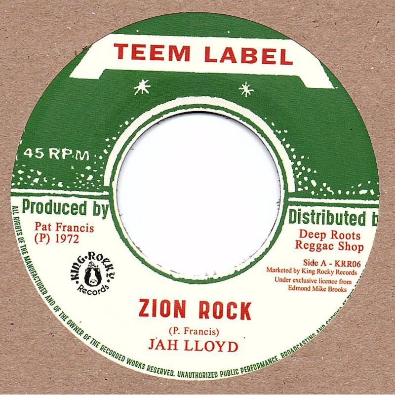 "(7"") JAH LLOYD - ZION ROCK / VIN GORDON - REBEL ROCK"