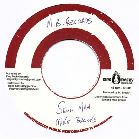 "(7"") MIKE BROOKS - SENSI MAN / VERSION"