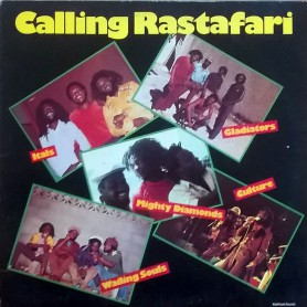 (LP) VARIOUS ARTIST - CALLING RASTAFARI : ITALS, GLADIATORS, CULTURE, WAILING SOULS, MIGHTY DIAMONDS