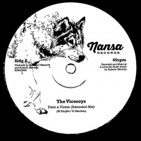 "(12"") THE VICEROYS - DEM A COME (EXTENDED MIX) / I MAN CRUZ - NUFF A DEM + DUB VERSION"