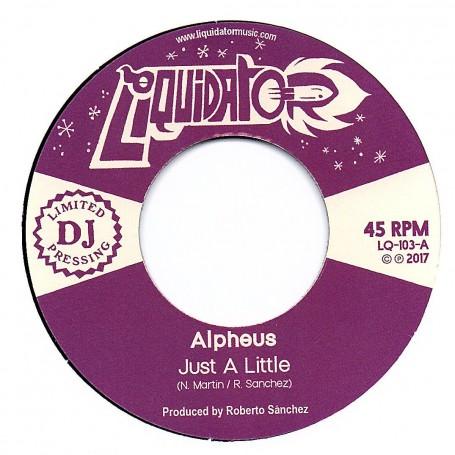 """(7"""") ALPHEUS - JUST A LITTLE / SLEEPING GIANT"""