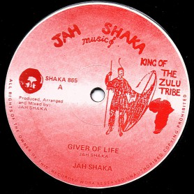 "(12"") JAH SHAKA - GIVER OF LIFE / JAH SHAKA & THE FASIMBAS - LIFE TIME DUB"
