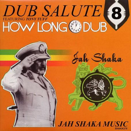 (LP) JAH SHAKA - DUB SALUTE 8 FEAT TONY TUFF