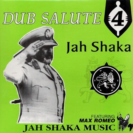 (LP) JAH SHAKA - DUB SALUTE 4 FEAT MAX ROMEO