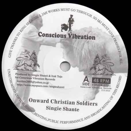 "(7"") SINGIE SHANTE - ONWARD CHRISTIAN SOLDIERS / MIGHTY MASSA - DUBWISE"