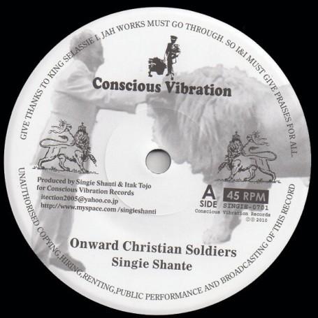 "(7"") SINGIE SHANTE - ONWARD CHRISTIAN SOLDIERS / MIGHTY MASSA - DUBWISE"