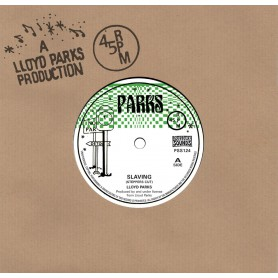 "(7"") LLOYD PARKS - SLAVING (STEPPERS CUT) / VERSION"