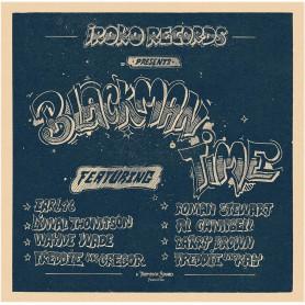 (LP) VARIOUS ARTISTS - IROKO RECORDS PRESENTS BLACKMAN TIME (THOMPSON SOUND PRODUCTION)