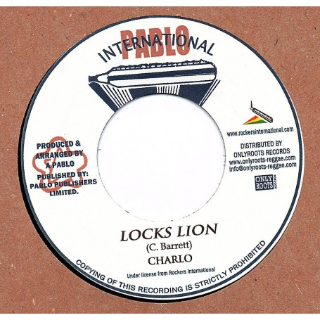 "(7"") CHARLO - LOCKS LION / NATTY ALL STARS - DUB LION"