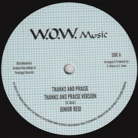 "(12"") JUNIOR REID - THANKS AND PRAISE / D. ROY BAND - THANKS AND PRAISE VERSION 2"