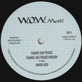 "(12"") JUNIOR REID - THANKS AND PRAISE / D. ROY BAND - THANKS AND PRAISE VERSION 2"