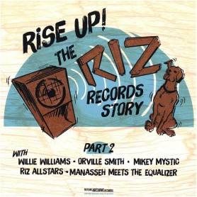 (LP) VARIOUS ARTISTS - RISE UP ! THE RIZ RECORDS STORY PART 2