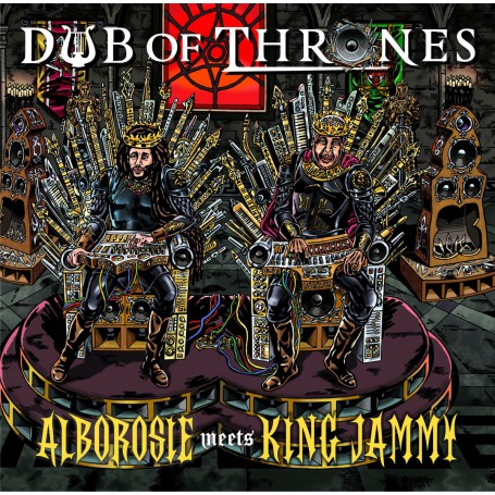 (LP) ALBOROSIE MEETS KING JAMMY - DUB OF THRONES