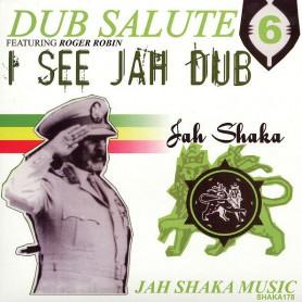 (LP) JAH SHAKA - DUB SALUTE 6 FEAT ROGER ROBIN