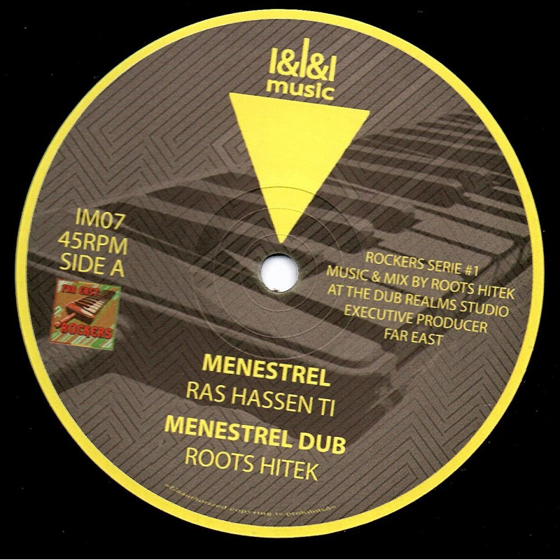 "(12"") RAS HASSEN TI - MENESTREL / FAR EAST - EAST AFRICAN TIME"