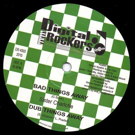 """(12"""") SISTER CHARLOTTE - BAD THINGS AWAY / FAR EAST- GIVE THANKS & ISES ITINUALLY"""