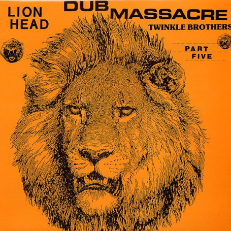 (LP) THE TWINKLE BROTHERS - DUB MASSACRE PART 5 LION HEAD