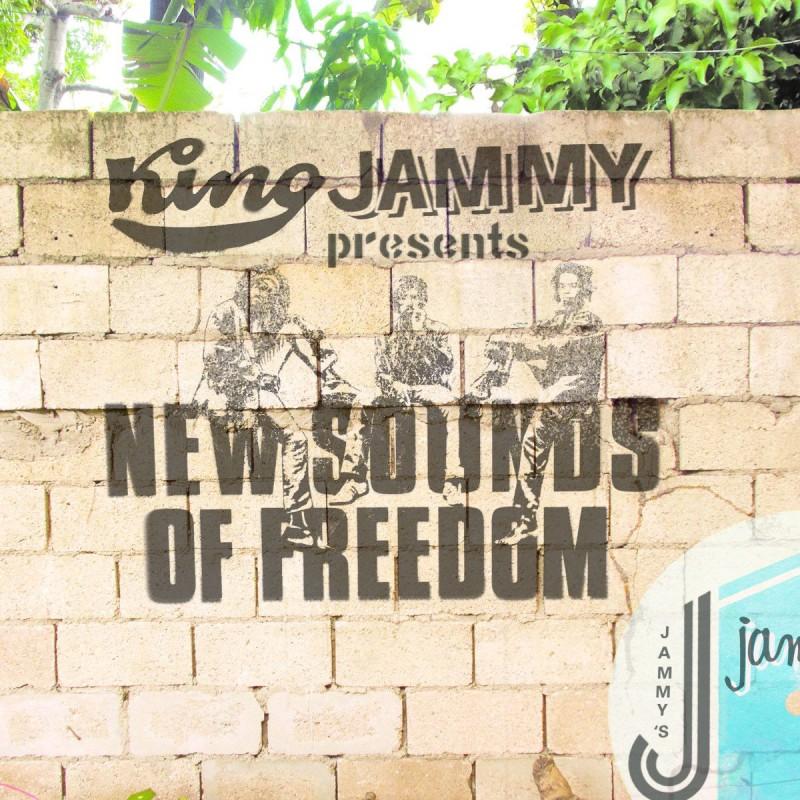 (LP) BLACK UHURU TRIBUTE - KING JAMMY PRESENTS NEW SOUNDS OF FREEDOM : ALBOROSIE, CHRONIXX, TONY REBEL, BOUNTY KILLER, U ROY...