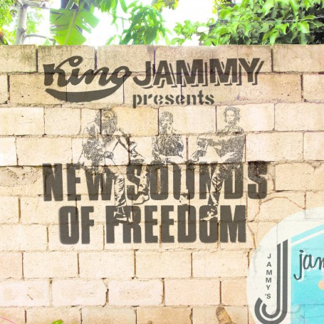 (LP) BLACK UHURU TRIBUTE - KING JAMMY PRESENTS NEW SOUNDS OF FREEDOM : ALBOROSIE, CHRONIXX, TONY REBEL, BOUNTY KILLER, U ROY...