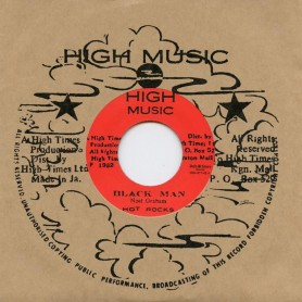 "(7"") HOT ROCKS - BLACK MAN / HIGH TIMES PLAYERS - BLACK MAN VERSION"