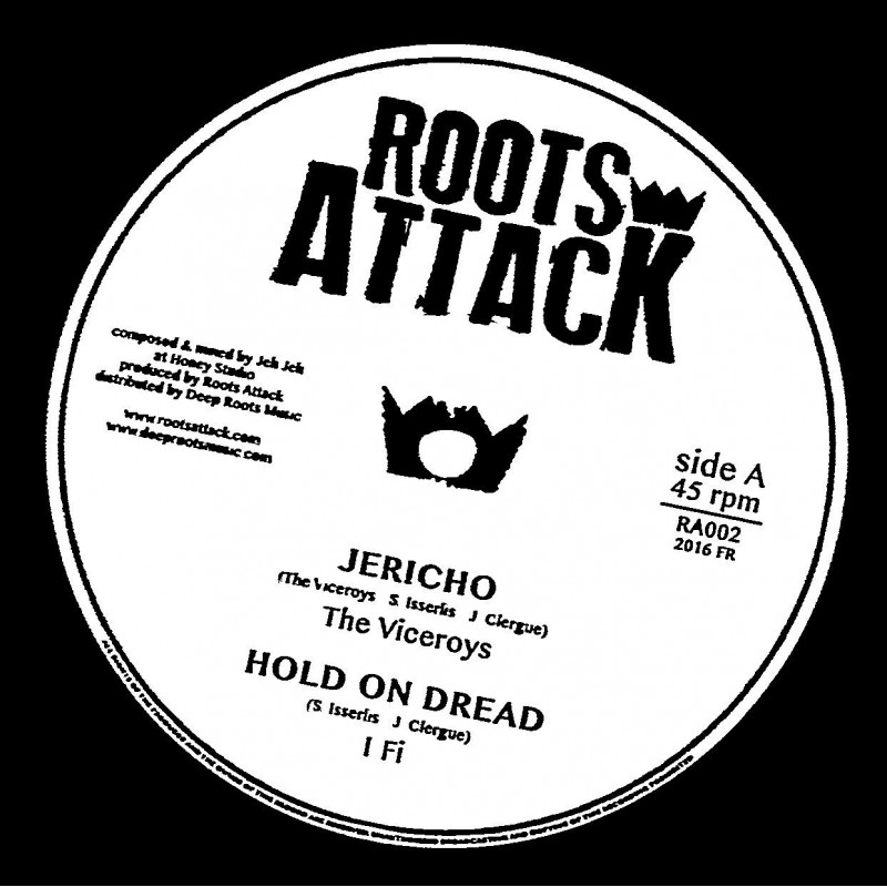 """(12"""") THE VICEROYS - JERICHO / SISTA JAHAN - MY EVERYTHING"""