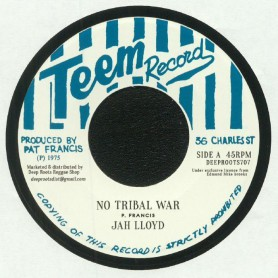 "(7"") JAH LLOYD - NO TRIBAL WAR / BUNNY & HERMAN - ARK OF THE COVENANT"