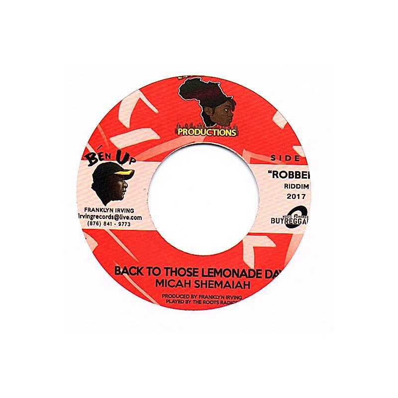 "(7"") MICAH SHEMAIAH - BACK TO THOSE LEMONADE DAYS / BLAZE MOB - WASTE NO TIME"