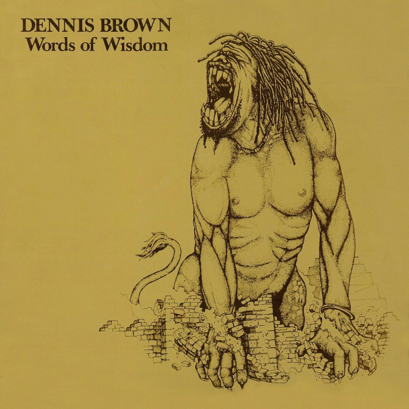 (LP) DENNIS BROWN - WORDS OF WISDOM