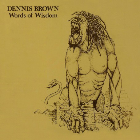 (LP) DENNIS BROWN - WORDS OF WISDOM