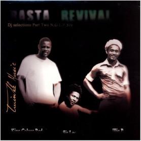 (LP) SIR LEE, ILLIE P, COLOR RED, TWINKLE BROTHERS - RASTA REVIVAL