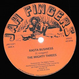 """(12"""") THE MIGHTY THREES - RASTA BUSINESS (Extended) / SATA (Extended)"""