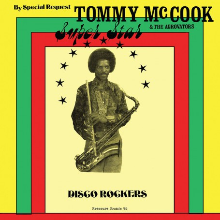 (LP) TOMMY McCOOK & THE AGGROVATORS - SUPER STAR DISCO ROCKERS
