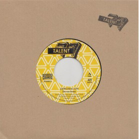 "(7"") DEVON IRONS - JERUSALEM / TALENT CREW - JERUSALEM ROCK"