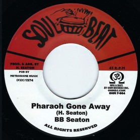 "(7"") BB SEATON - PHARAOH GONE AWAY / CONSCIOUS MINDS - PHARAOH'S DUB"