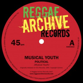 "(7"") MUSICAL YOUTH - POLITICAL / GENERALS"
