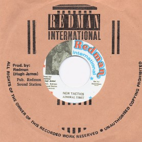 "(7"") ADMIRAL TIBET - NEW TACTICS / VERSION"