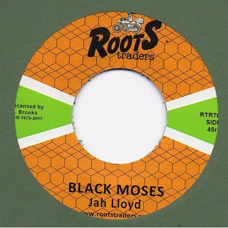 "(7"") JAH LLOYD - BLACK MOSES / BLACK MOSES DUB"
