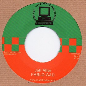 "(7"") PABLO GAD - JAH ALTER / HYDROPONICS - ALTER DUB"