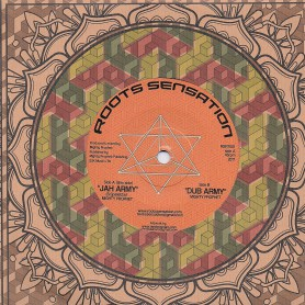 "(7"") MIGHTY PROPHET - JAH ARMY / DUB ARMY"