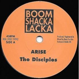 """(7"""") THE DISICPLES - ARISE / ARISE DUB"""