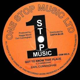 """(12"""") EARL CUNNINGHAM - GOT TO KNOW THAT PLACE / GATES ARE OPEN WIDE"""