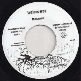 "(7"") THE SHADES - LYBIANS FREE / FREEDOM FIGHTERS DUB TRIBUTE"