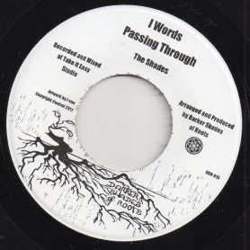 """(7"""") THE SHADES - I WORDS PASSING THROUGH / IGHTSFUL SOUND"""