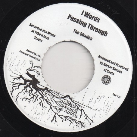 "(7"") THE SHADES - I WORDS PASSING THROUGH / IGHTSFUL SOUND"