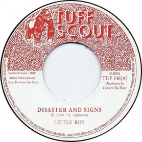 "(7"") LITTLE ROY - DISASTER AND SIGNS / MELODICA SIGNS"