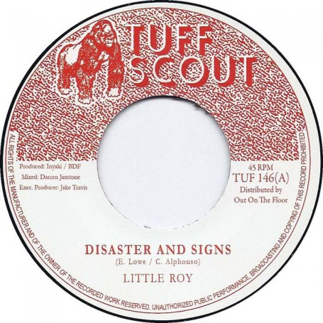 """(7"""") LITTLE ROY - DISASTER AND SIGNS / MELODICA SIGNS"""