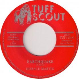 "(7"") HORACE MARTIN - EARTHQUAKE / A SHAKEY DUB"