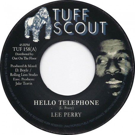 "(7"") LEE PERRY - HELLO TELEPHONE / VERSION"