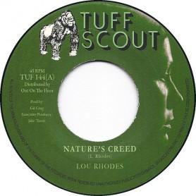 "(7"") LOU RHODES - NATURE'S CREED / A NATURAL DUB"